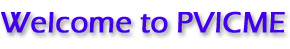 Welcome to PVICME